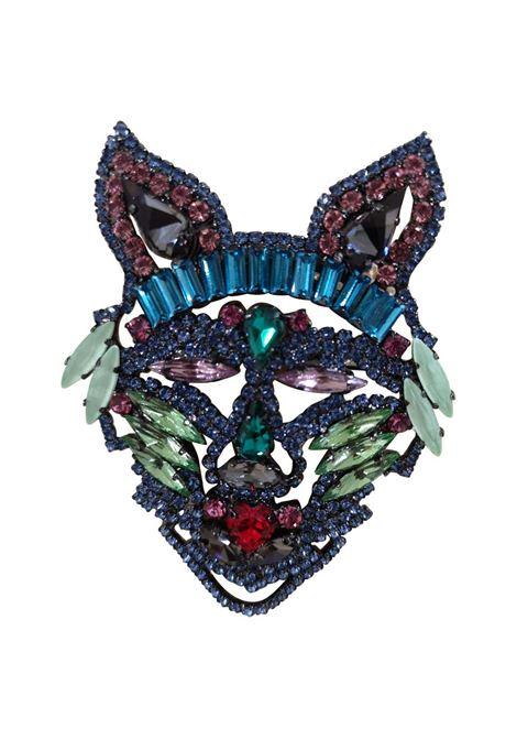 LisaC blue pet swarovski brooch Lisa C. Bijoux | Brooches | BROOCH.LUI