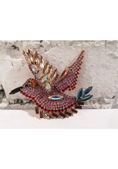 LisaC multicoloured swarovski brooch Lisa C. Bijoux | Brooches | BROOCH.ZUMA
