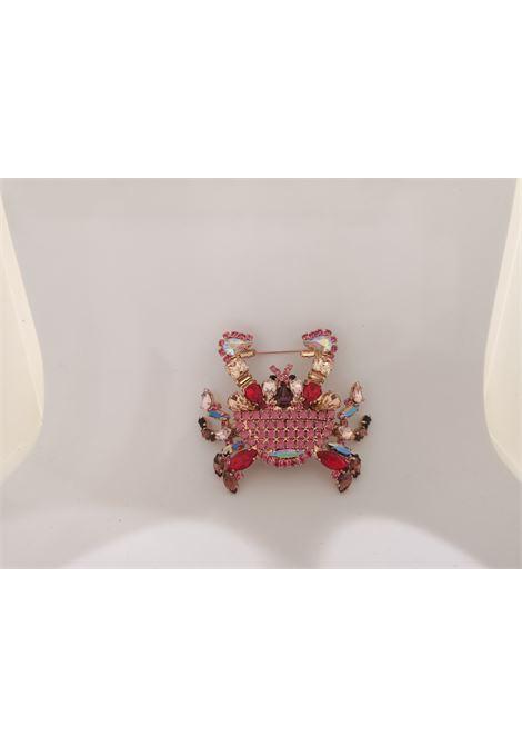 LisaC Swarovski stones Crab brooch Lisa C. Bijoux | Brooches | BROOCHES---CRAB