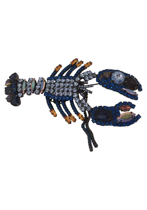 LisaC Swarovski stones lobster brooch Lisa C. Bijoux | Brooches | BROOCHES---LOABSTER