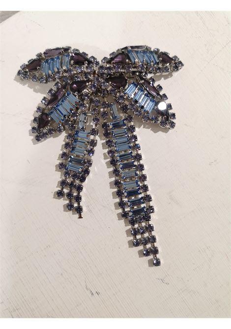 Lisac blue swarovski palm brooch Lisa C. Bijoux | Brooches | BROOCHES---LULLA