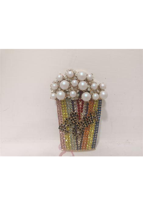 LisaC pop corn multicolour swarovski stones brooch Lisa C. Bijoux | Brooches | BROOCHES-.,.POP CORN CONFETTI