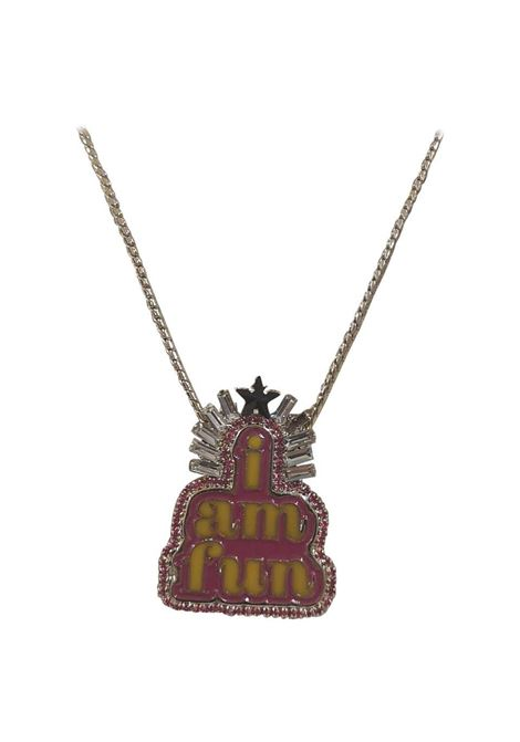 LisaC silver I am Fun charm necklace Lisa C. Bijoux | Collana | CLUB-