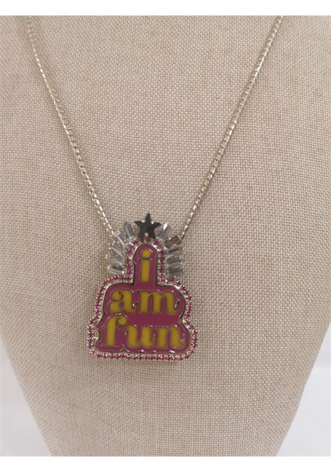 LisaC silver I am Fun charm necklace Lisa C. Bijoux | Necklaces | CLUB-