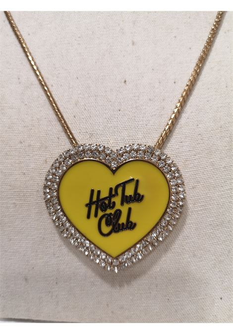LisaC Hot tub club swarovski necklace Lisa C. Bijoux | Collana | CLUBGIALLO