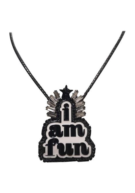 LisaC I am fun necklace Lisa C. Bijoux | Collana | CLUBNEROBIANCO