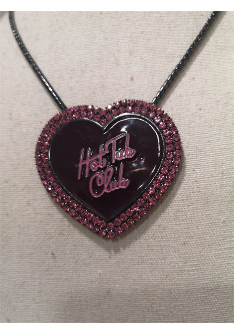 LisaC Hot tub club swarovski necklace Lisa C. Bijoux | Collana | CLUBNERO