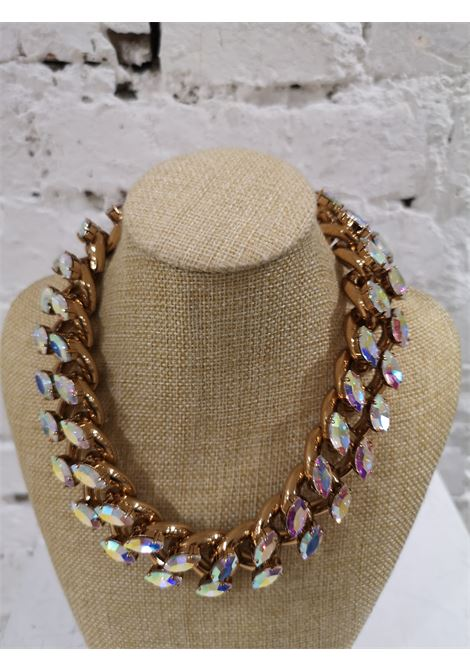 LisaC Crystal swarosvky stones necklace Lisa C. Bijoux | Necklaces | COLANA.NELIS