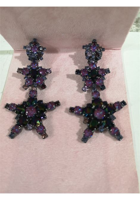 LisaC black swarovski anchor earrings Lisa C. Bijoux | Earrings | EARRINGS.,SAILOR