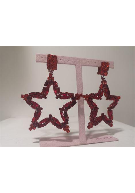 LisaC red swarovski stones stars earrings Lisa C. Bijoux | Earrings | EARRINGSFLASH