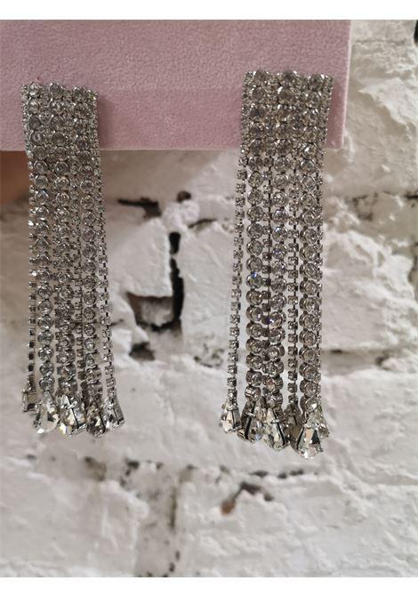 Lisac crystal swarovski pendant earrings Lisa C. Bijoux | Orecchini | EARRINGSGIORGINA