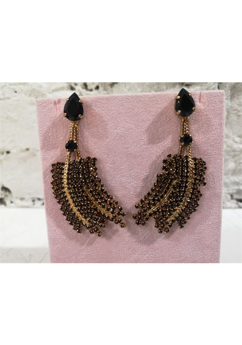 LisaC black swarovski earrings Lisa C. Bijoux | Earrings | EARRINGSPAISLEY
