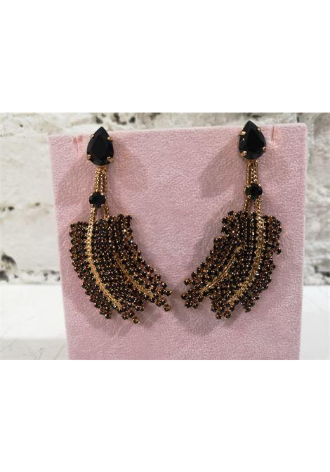 LisaC black swarovski earrings Lisa C. Bijoux | Orecchini | EARRINGSPAISLEY