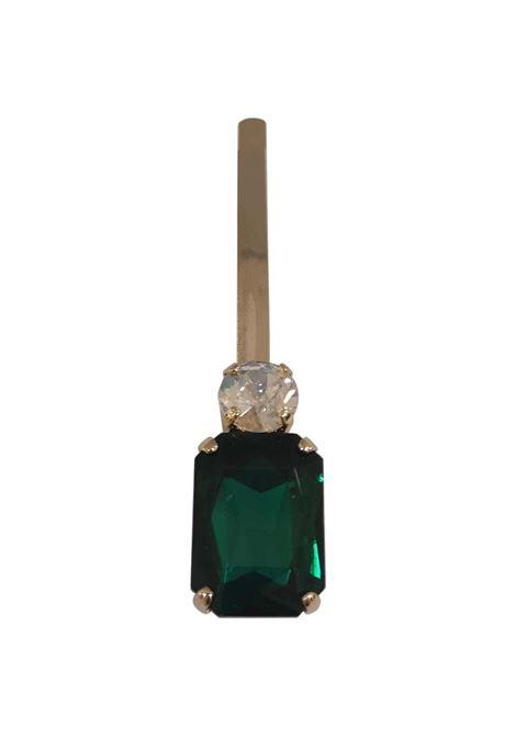 LisaC swarovski stones hair clip Lisa C. Bijoux | Accessories | HP...GREEN