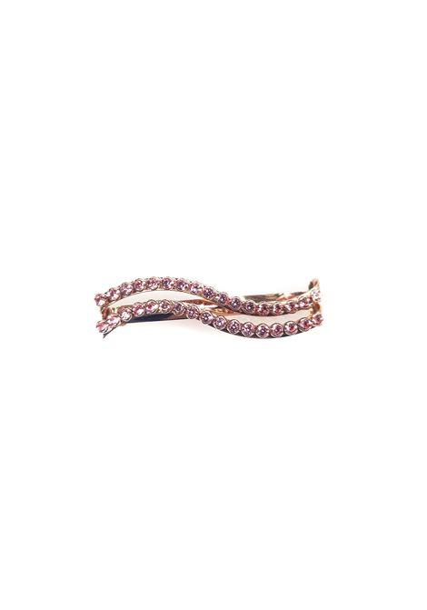 LisaC pink swarovski stones wave hair clip Lisa C. Bijoux | Accessories | HP...OTT