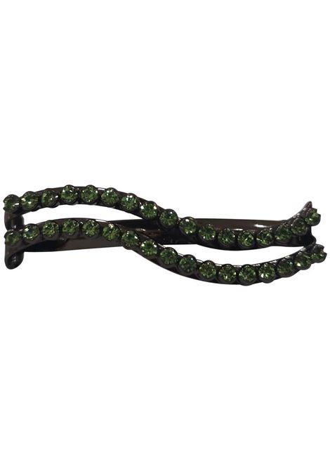 LisaC green swarovski stones wave hair clip Lisa C. Bijoux | Accessories | HP...VERDE