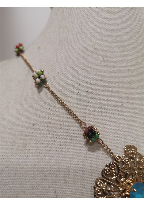 LisaC gold tone swarovski stones necklace Lisa C. Bijoux | Collana | JAY-