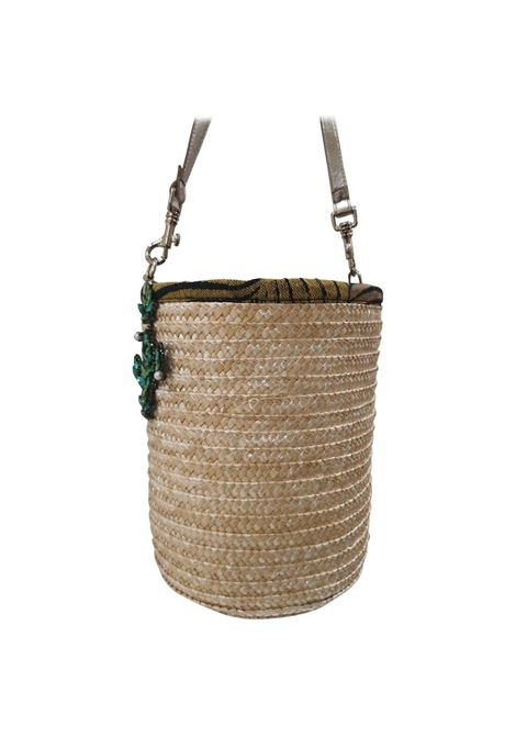 LisaC Cactus raffia shoulderbag Lisa C. Bijoux | Bags | ZENDAYA-