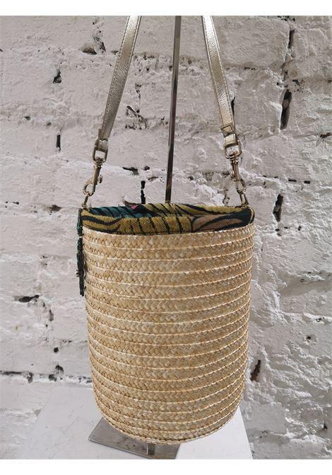 LisaC Cactus raffia shoulderbag Lisa C. Bijoux | Borsa | ZENDAYA-
