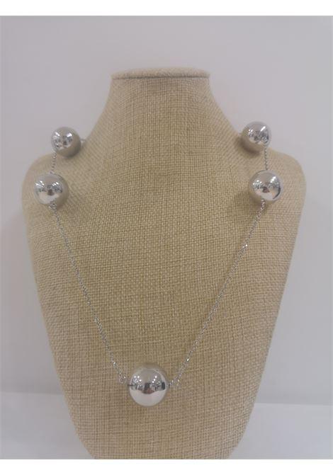 LuceDeiMieiOcchi bulle silver necklace Luce dei miei occhi | Necklaces | BULLE NECKL-