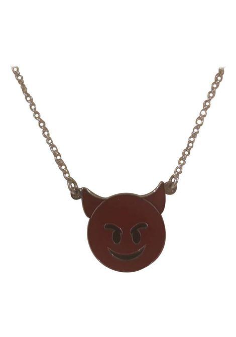 LuceDeiMieiOcchi little red devil silver necklace Luce dei miei occhi | Necklaces | DIAVOLETTO-
