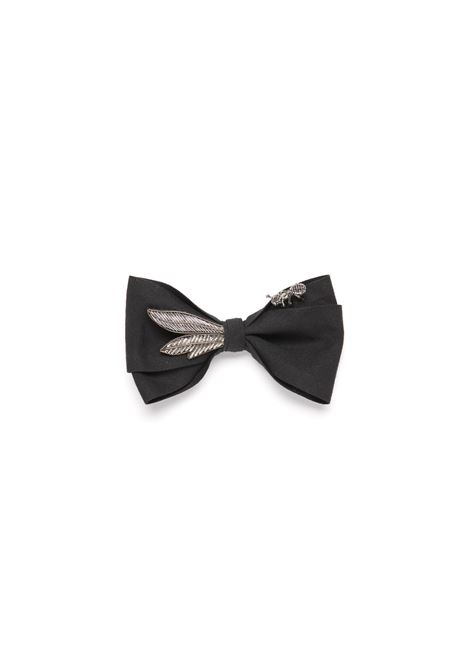 Silk Papillon with Ant Mani del Sud | Bow tie | 8BPRPLFORMICHINA