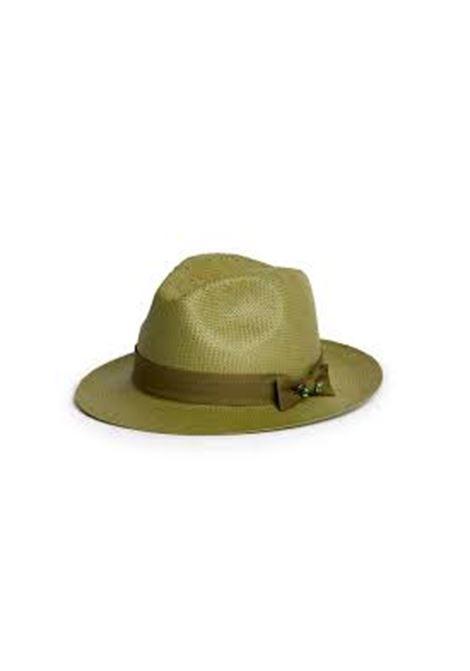 Green Rafia Hat Mani del Sud | Cappello | WH21BPRPLBIANCO