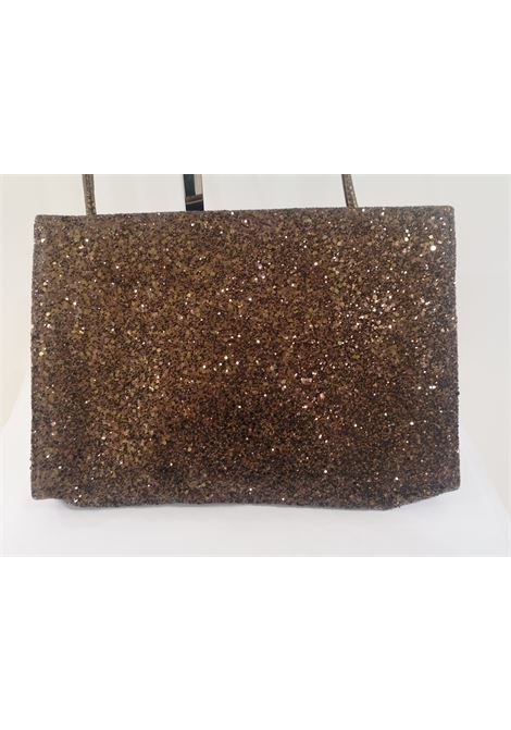 Mario Valentino brown glitter shoulderbag Mario Valentino | Borsa | AT02080SXWBRONZE
