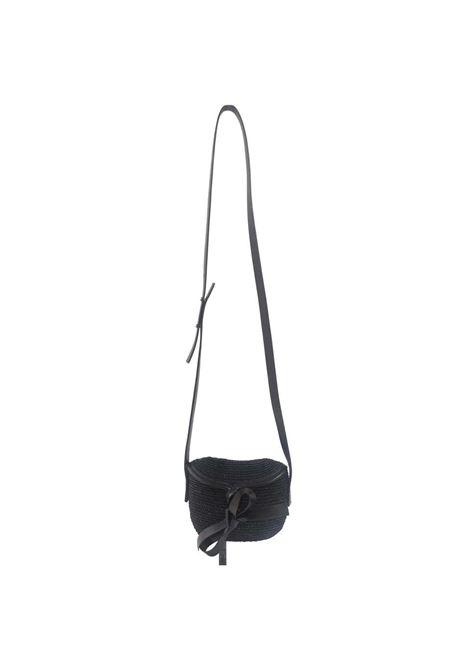 Diana rafia handmade minauderie shoulder bag Michele Chiocciolini | Borsa | MINI DIANANERO