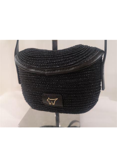Diana rafia handmade minauderie shoulder bag Michele Chiocciolini | Bags | MINI DIANANERO