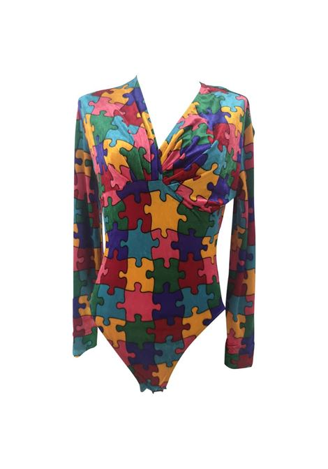 Moschino puzzle velvet body Moschino | Body | SD020CDX80PUZZLE