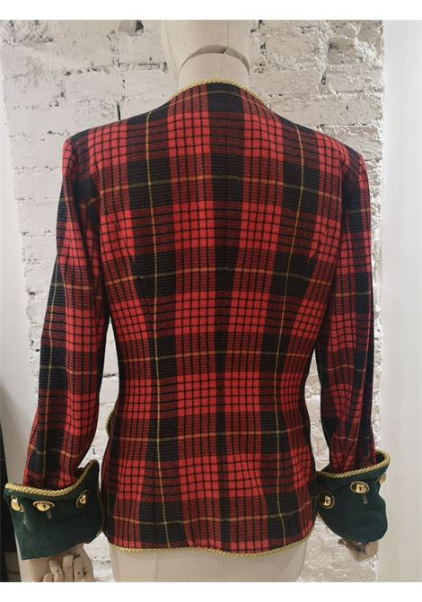 Moschino couture tartan vintage jacket Moschino | Giacca | SD020XDS200DSVTARTAN