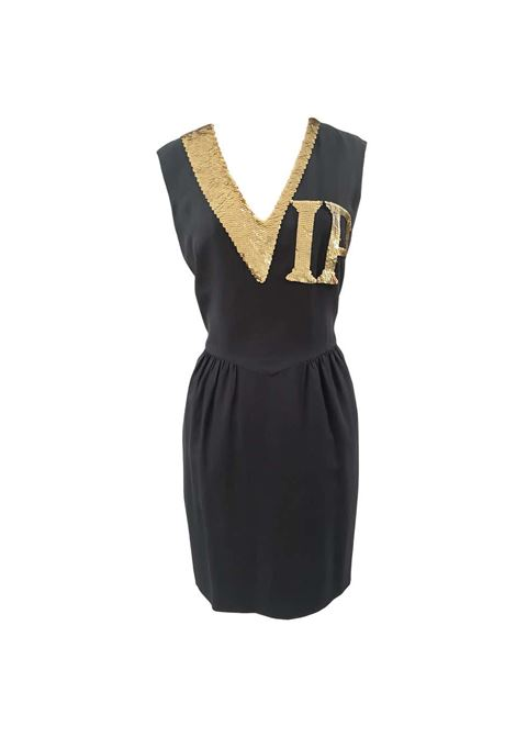 Moschino Gold sequins VIP Dress Moschino | Dresses | SD020XSF140VIP