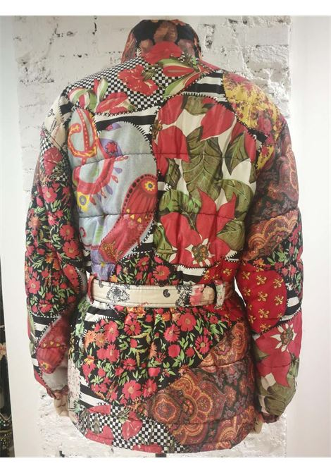 Moschino FashOn and FashOff multicoloured Bomber Moschino | Jackets | SD020ZA10DCSA0MULTI