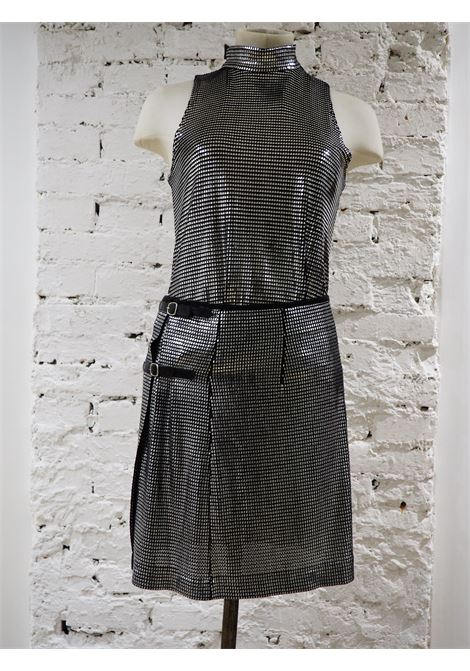 Paco Rabanne anthracite skirt suit PACO RABANNE | Suit | SD020CS90GONNA TOP