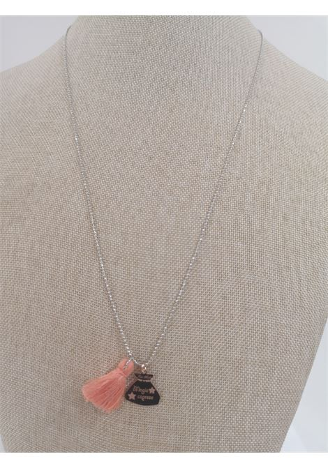 Pitimali Capri Magic silver necklace Pitimali | Necklaces | 10/CARANCIO ORO ROSA