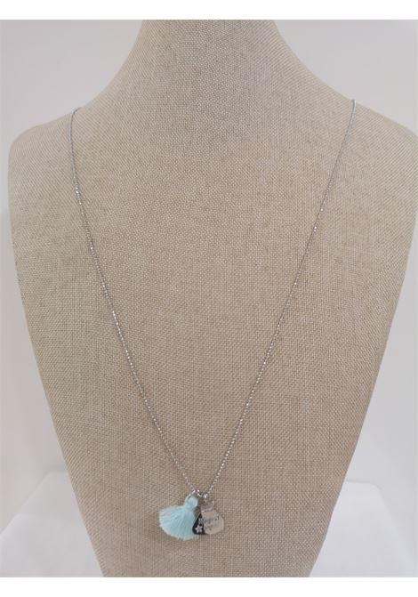 Pitimali Capri Magic silver necklace Pitimali | Necklaces | 10/CAZZURRO
