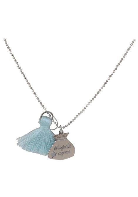 Pitimali Capri Magic silver necklace Pitimali | Necklaces | 10/CCELESTE BIANCO