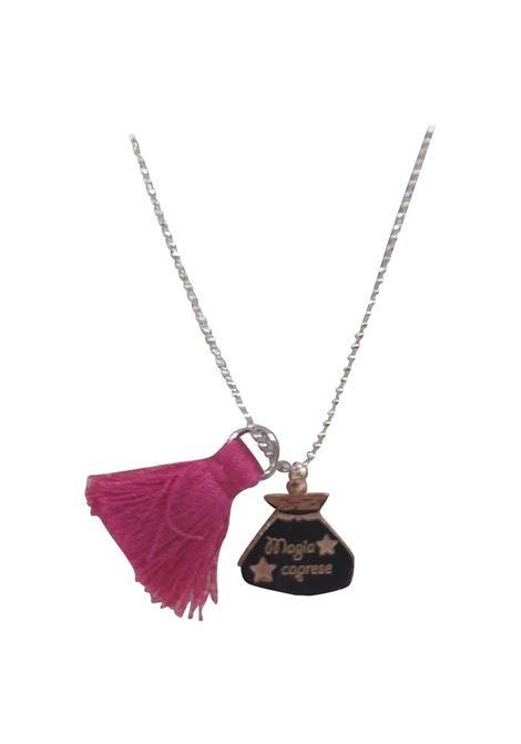 Pitimali Capri Magic silver necklace Pitimali | Necklaces | 10/CFUCSIA