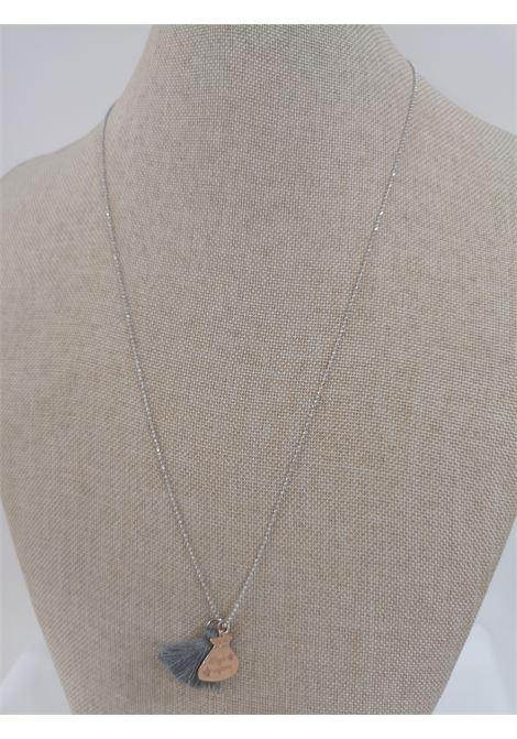 Pitimali Capri Magic silver necklace Pitimali | Necklaces | 10/CGREY ROSE