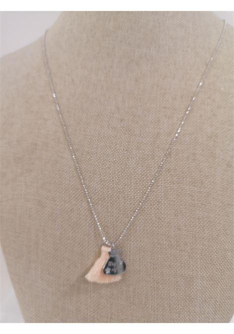 Pitimali Capri Magic silver necklace Pitimali | Necklaces | 10/CLIGHT ORANGE