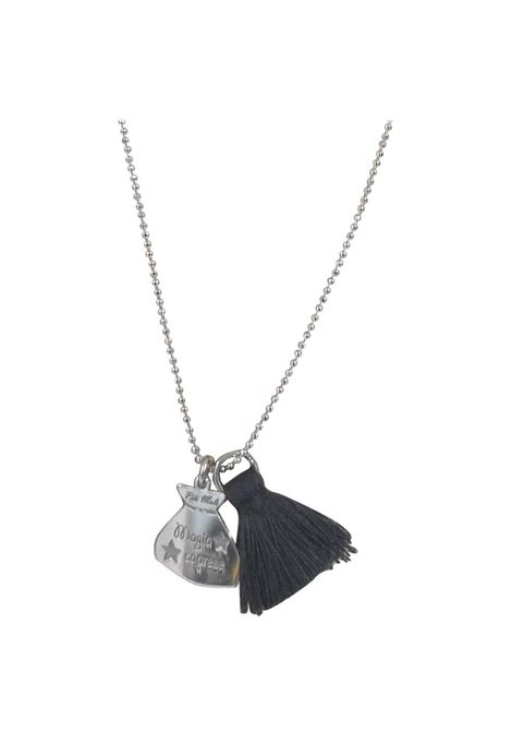 Pitimali Capri Magic silver necklace Pitimali | Necklaces | 10/CNERO ROSA