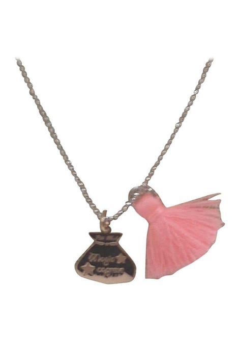 Pitimali Capri Magic silver necklace Pitimali | Necklaces | 10/CORO ROSA ARANCIO