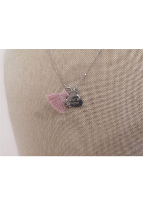 Pitimali Capri Magic silver necklace Pitimali | Necklaces | 10/CROSA BIANCO