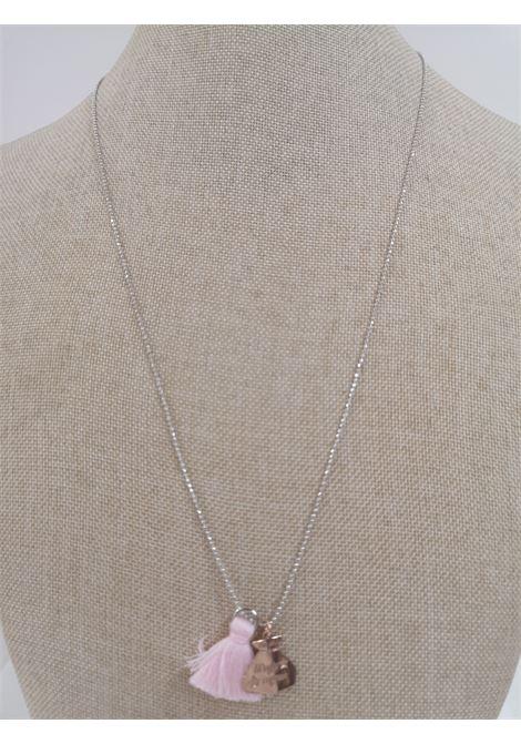 Pitimali Capri Magic silver necklace Pitimali | Necklaces | 10/CROSE GOLD