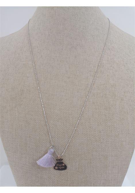 Pitimali Capri Magic silver necklace Pitimali | Necklaces | 10/CVIOLA BIANCO