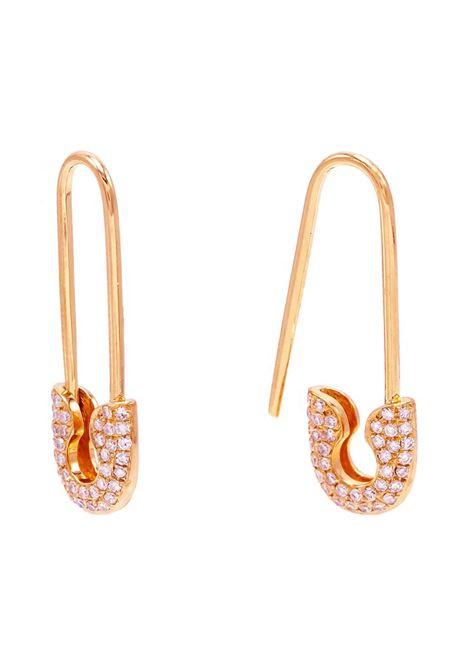 Piti Malì Safety pin earrings PItimali | Earrings | 430/OROSEE