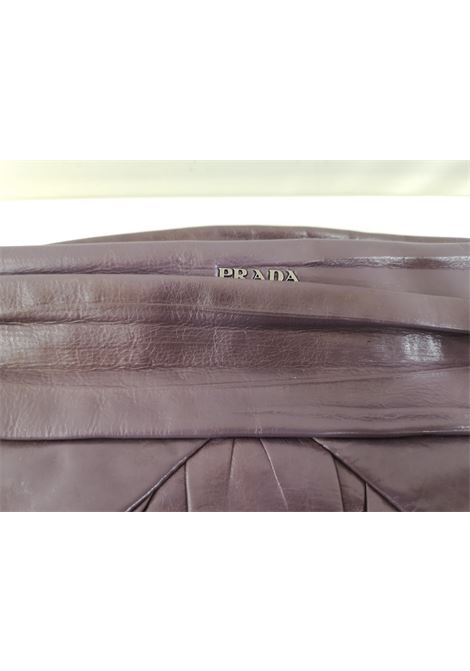 Prada purple leather handbag Prada | Borsa | AT020XS12RVS0GVIOLA BEIGE