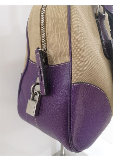 Prada beige purple handle bag / Shoulder bag Prada | Borsa | AT02XSCR25SC0POCHETTE