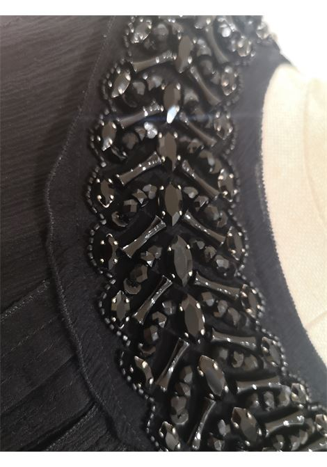 Prada Black silk with swarovsky stones Dress Prada | Dresses | AT45S0NERO